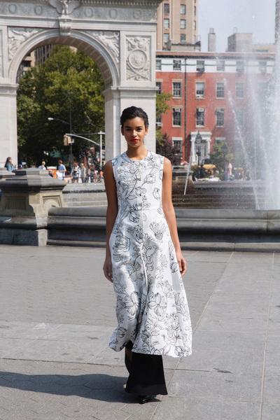Lela Rose Spring 2018 Ready-to-Wear - Look #24