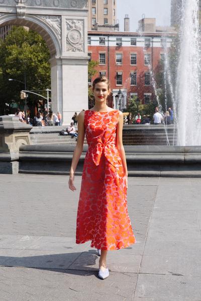 Lela Rose Spring 2018 Ready-to-Wear - Look #28