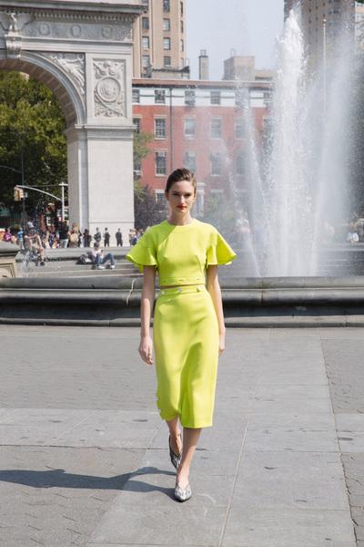 Lela Rose Spring 2018 Ready-to-Wear - Look #3