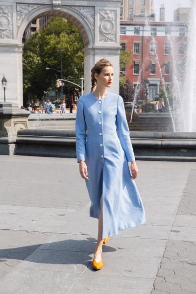 Lela Rose Spring 2018 Ready-to-Wear - Look #5