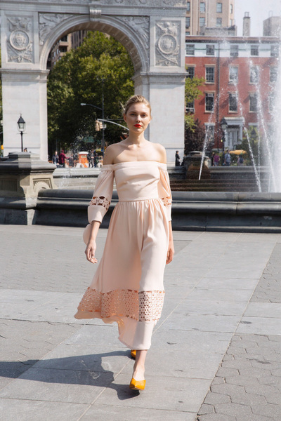 Lela Rose Spring 2018 Ready-to-Wear - Look #8