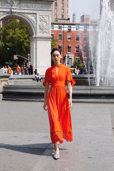 Lela Rose Spring 2018 Ready-to-Wear - Look #9