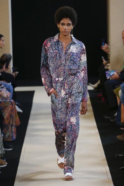 Leonard Paris Spring 2018 Ready-to-Wear - Look #13