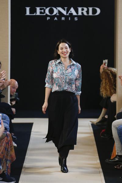 Leonard Paris Spring 2018 Ready-to-Wear - Look #36