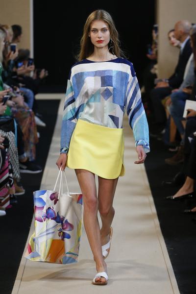Leonard Paris Spring 2018 Ready-to-Wear - Look #6