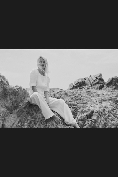 Lisa Marie Fernandez Spring 2018 Ready-to-Wear - Look #4