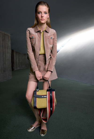 Longchamp Spring 2018 Ready-to-Wear - Look #17