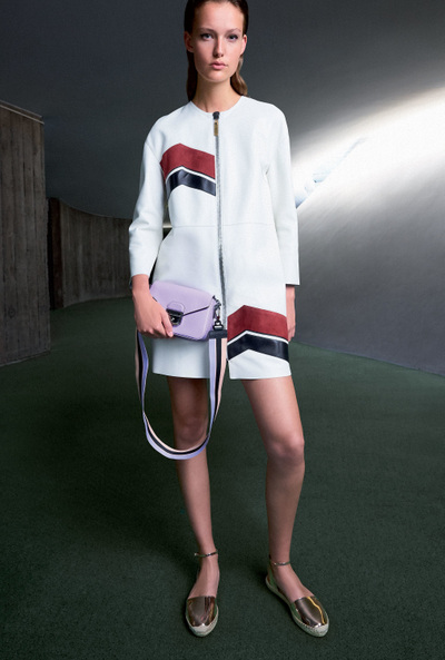 Longchamp Spring 2018 Ready-to-Wear - Look #18