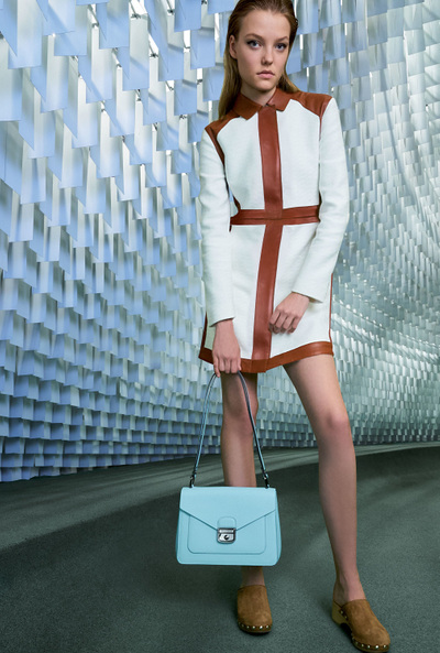 Longchamp Spring 2018 Ready-to-Wear - Look #22