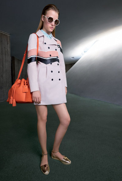 Longchamp Spring 2018 Ready-to-Wear - Look #28