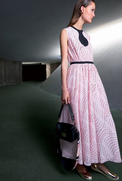 Longchamp Spring 2018 Ready-to-Wear - Look #8