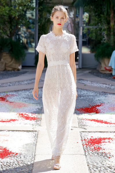 luisa beccaria Spring 2018 Ready-to-Wear - Look #1