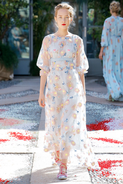 luisa beccaria Spring 2018 Ready-to-Wear - Look #12