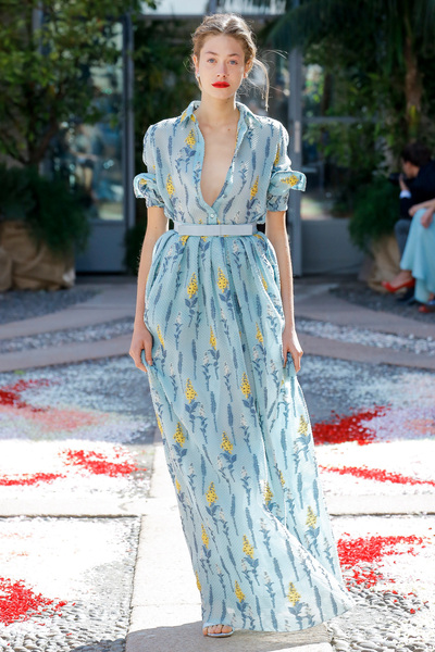 luisa beccaria Spring 2018 Ready-to-Wear - Look #15