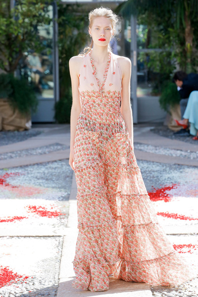 luisa beccaria Spring 2018 Ready-to-Wear - Look #23
