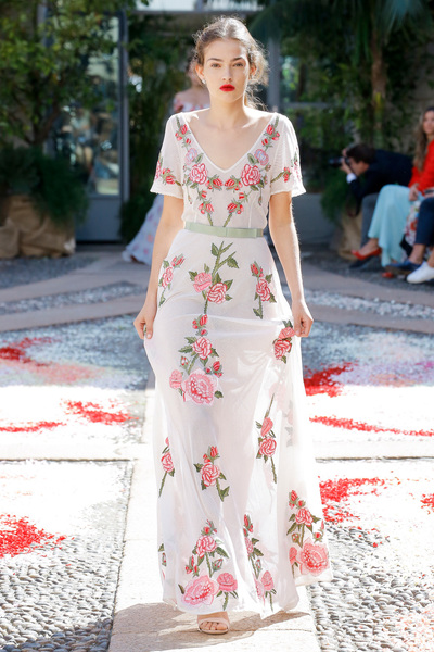 luisa beccaria Spring 2018 Ready-to-Wear - Look #27