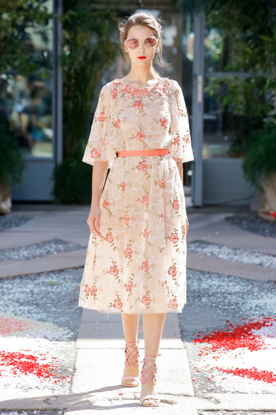 luisa beccaria Spring 2018 Ready-to-Wear - Look #31