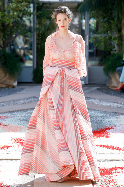 luisa beccaria Spring 2018 Ready-to-Wear - Look #32