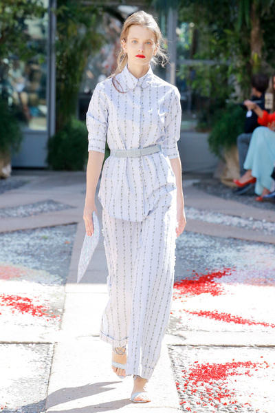 luisa beccaria Spring 2018 Ready-to-Wear - Look #34