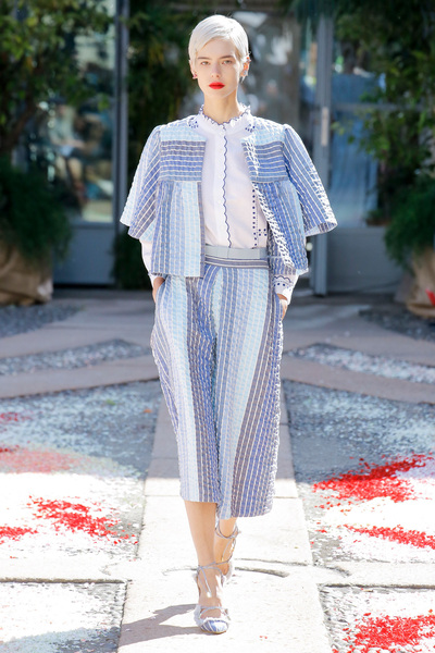 luisa beccaria Spring 2018 Ready-to-Wear - Look #38