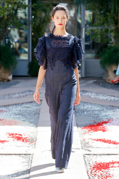 luisa beccaria Spring 2018 Ready-to-Wear - Look #39