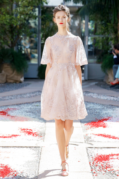 luisa beccaria Spring 2018 Ready-to-Wear - Look #43