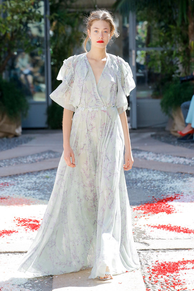 luisa beccaria Spring 2018 Ready-to-Wear - Look #46