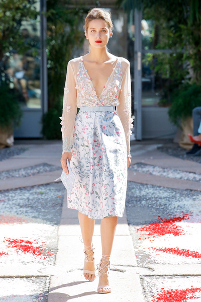 luisa beccaria Spring 2018 Ready-to-Wear - Look #48