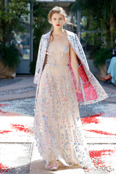luisa beccaria Spring 2018 Ready-to-Wear - Look #49