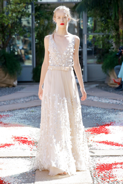 luisa beccaria Spring 2018 Ready-to-Wear - Look #52