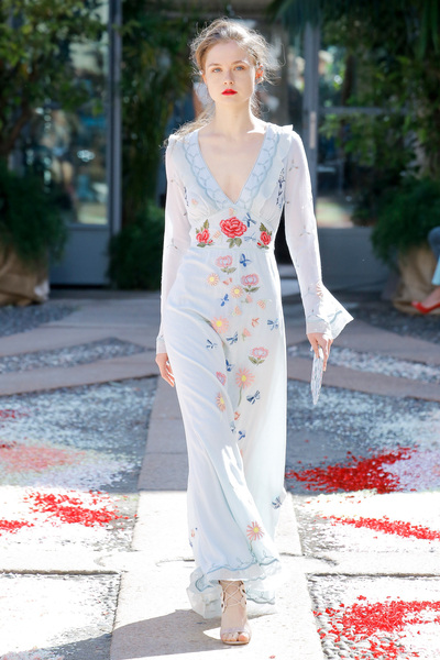 luisa beccaria Spring 2018 Ready-to-Wear - Look #7