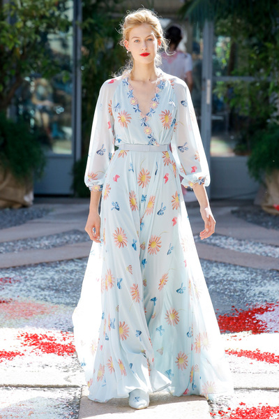 luisa beccaria Spring 2018 Ready-to-Wear - Look #9