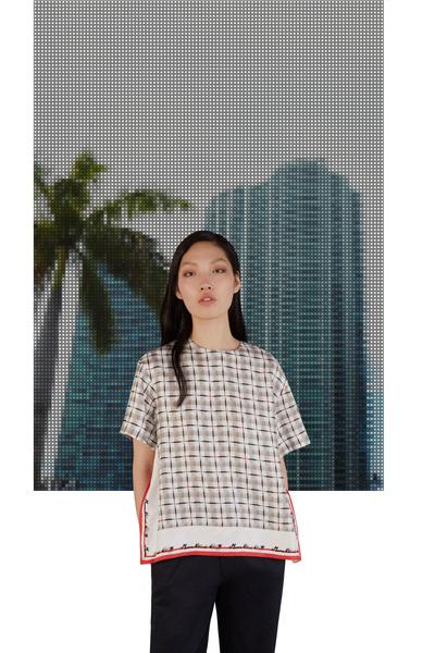 Maison Kitsune Resort 2018 - Look #23