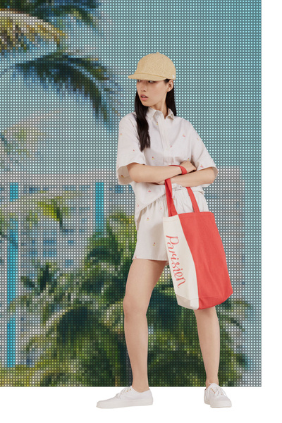 Maison Kitsune Resort 2018 - Look #24