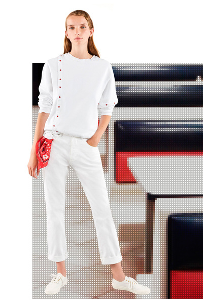 Maison Kitsune Spring 2018 Ready-to-Wear - Look #13