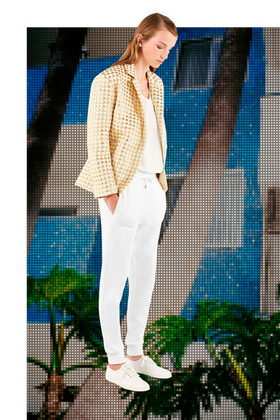 Maison Kitsune Spring 2018 Ready-to-Wear - Look #16