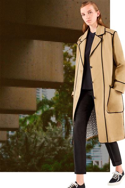 Maison Kitsune Spring 2018 Ready-to-Wear - Look #19