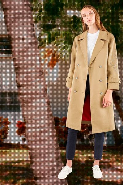 Maison Kitsune Spring 2018 Ready-to-Wear - Look #3