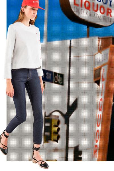 Maison Kitsune Spring 2018 Ready-to-Wear - Look #4