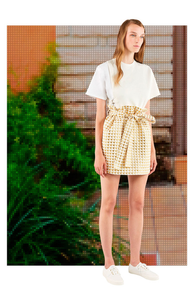 Maison Kitsune Spring 2018 Ready-to-Wear - Look #7