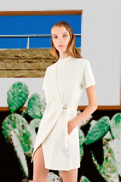 Maison Kitsune Spring 2018 Ready-to-Wear - Look #9