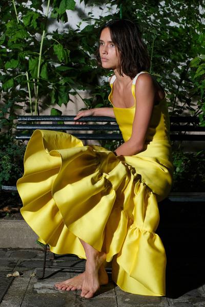 Maison Rabih Kayrouz Spring 2018 Ready-to-Wear - Look #4