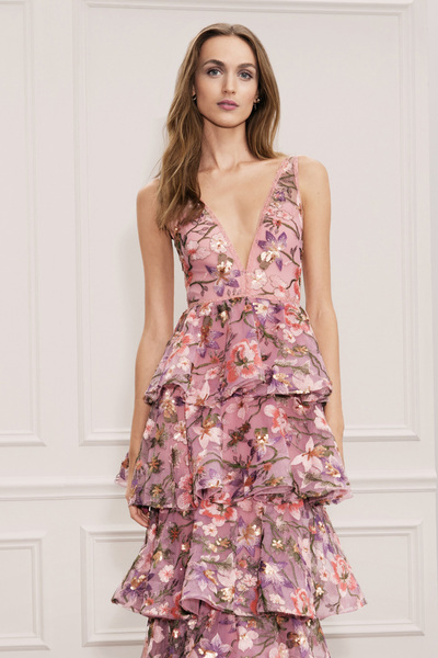 Marchesa Notte Spring 2018 Ready-to-Wear - Look #11