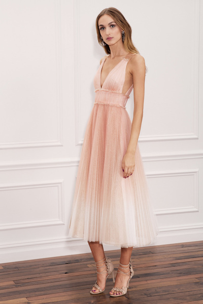 Marchesa Notte Spring 2018 Ready-to-Wear - Look #12