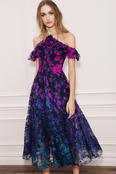 Marchesa Notte Spring 2018 Ready-to-Wear - Look #17