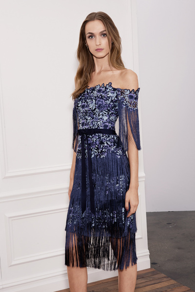 Marchesa Notte Spring 2018 Ready-to-Wear - Look #24