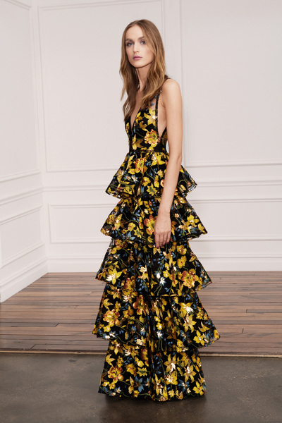 Marchesa Notte Spring 2018 Ready-to-Wear - Look #25