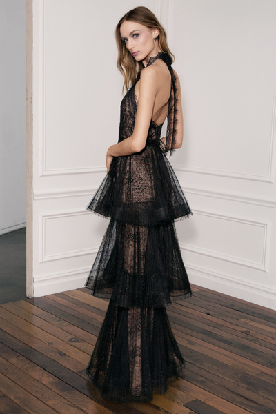 Marchesa Notte Spring 2018 Ready-to-Wear - Look #4