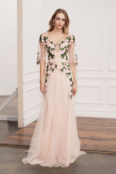 Marchesa Notte Spring 2018 Ready-to-Wear - Look #5