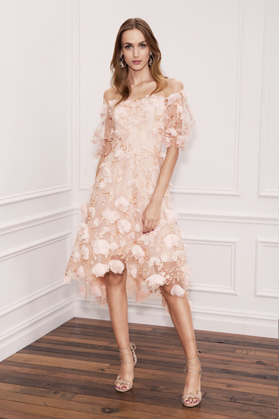 Marchesa Notte Spring 2018 Ready-to-Wear - Look #8